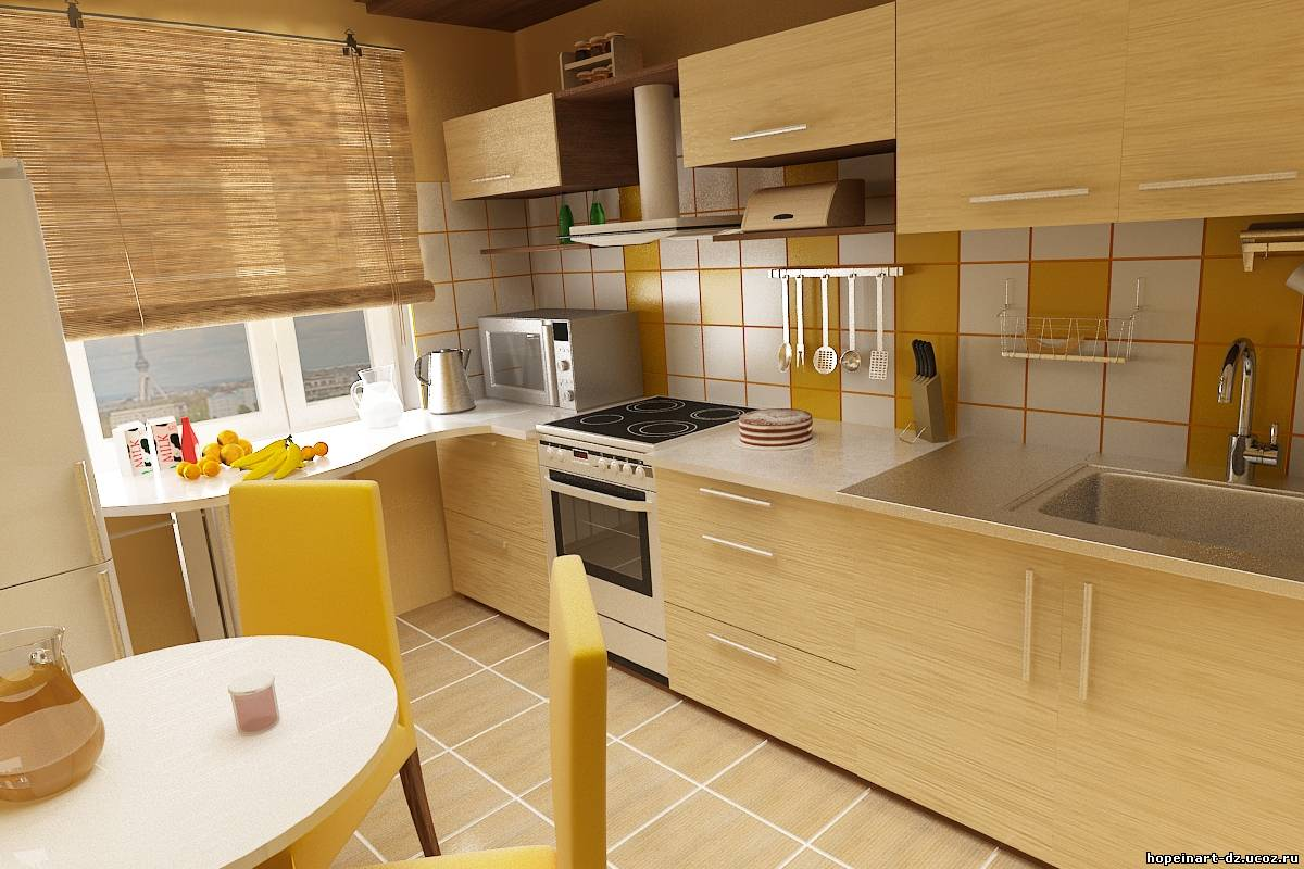 Реальный дизайн кухни фото